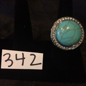 Cute Designer Style Turquoise Ring